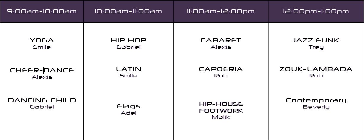 cdw2014-class-schedule